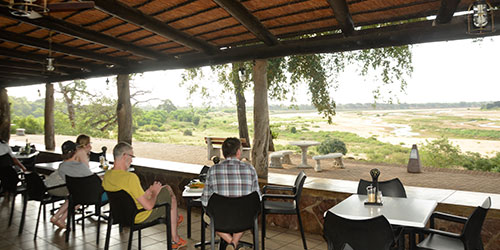 Restaurant in the Kruger National Park