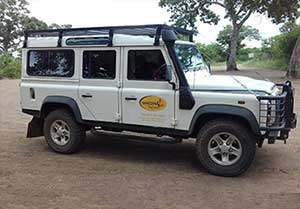 Your personal vehicle for the Historical and Mountain Trek